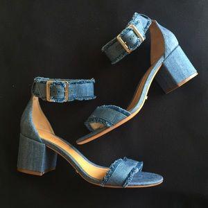 SCHUTZ Taisa Low Heel Sandals - Size 8.5 NWT